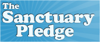 Sanctuary Pledge logo